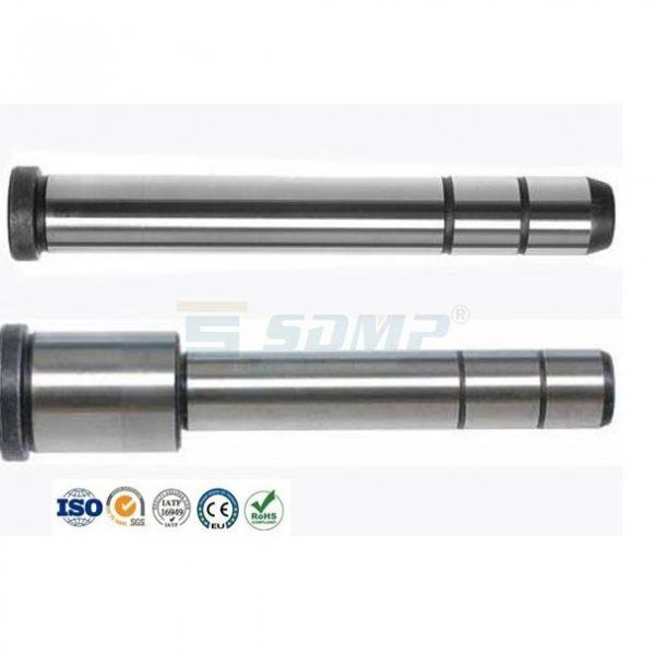 Precision-guide-pillar-black-oxidized-and-sandblast-finish