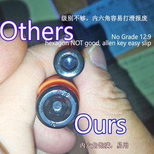 quality nylon parting lock comparasion