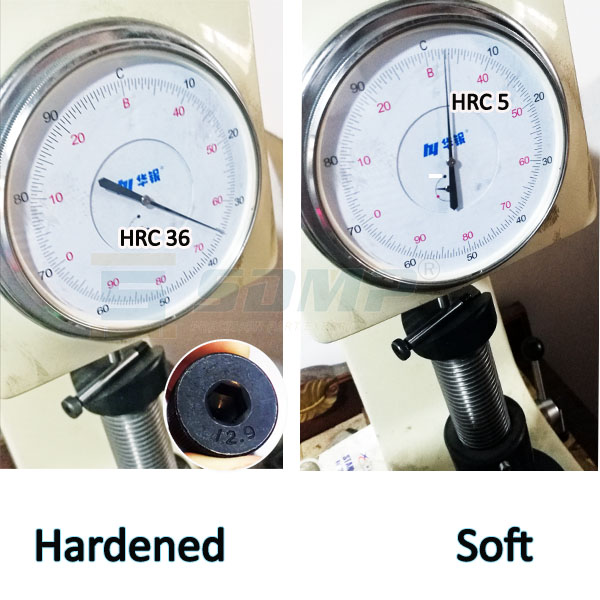 shoudler screw hard and soft test