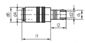 quick coupler or connector